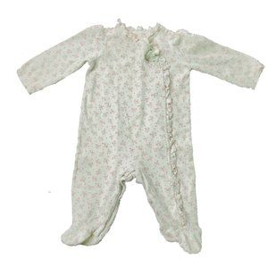 First Impressions Girl's L/S Sleeper - Size 3-6M